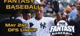 Daily Fantasy Baseball Advice – May 2