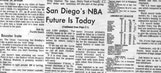 How the San Diego Clippers came into existence