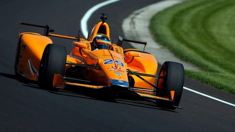 Fernando Alonso - 231.300 mph