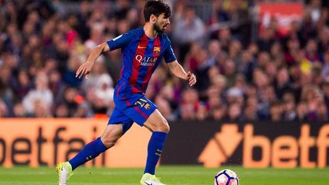 MF: Andre Gomes — Barcelona