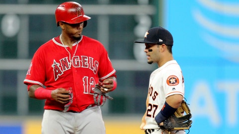 Astros at Angels, May 5-7