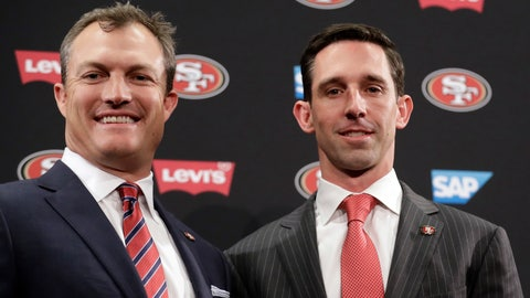 49ers hiring John Lynch and Kyle Shanahan