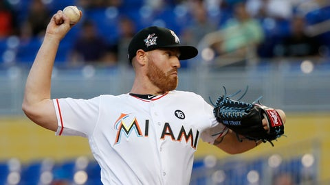 SP Dan Straily, Marlins