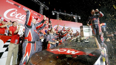 Dillon wins Coca-Cola 600
