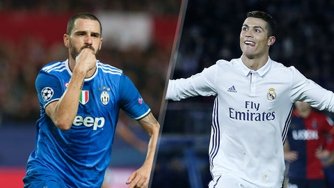 Leonardo Bonucci vs. Cristiano Ronaldo