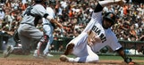 Braves LIVE To Go: R.A. Dickey struggles early as Braves drop series to Giants