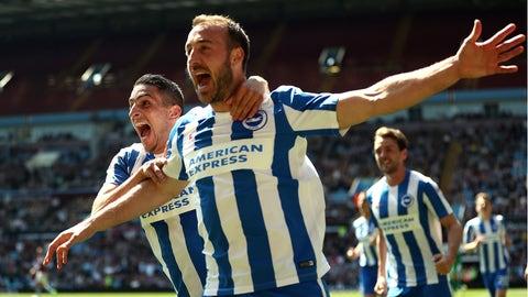 ↑ Promoted: Brighton & Hove Albion