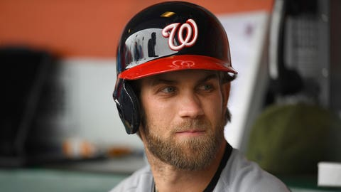 Nationals: Bryce Harper (1st round, 1st pick, 2010)