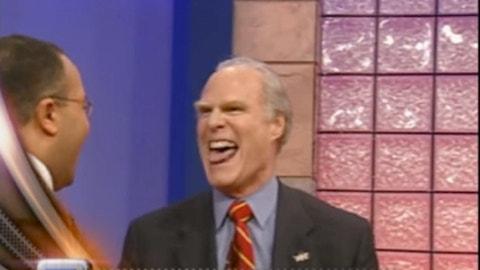 2003: Cavaliers owner Gordon Gund cracks a joke after winning the LeBron James sweepstakes