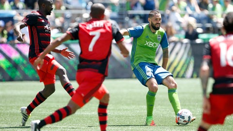 The Sounders still haven't figured their attack out
