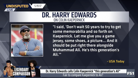 Dr. Harry Edwards: 'He's this generation's Ali'