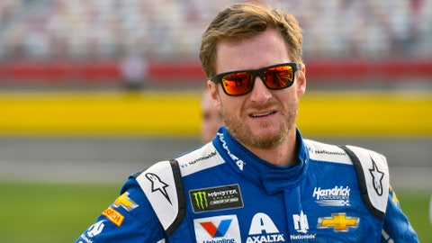 Dale Earnhardt Jr., +1