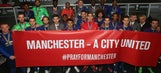 Manchester City, Manchester United set up fund for bombing victims