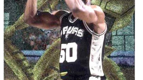 "David Robinson 1996-97 ""Cyber Metal"""