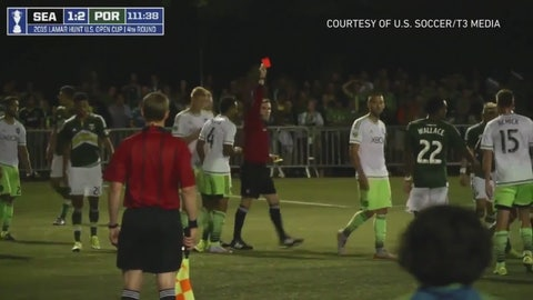 A bad referee, a ripped notebook and a lengthy ban
