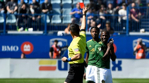 The loss of Chara really hurt the Timbers
