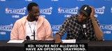 KD, Draymond joke about chemistry issues, take shots at NBA on TNT crew