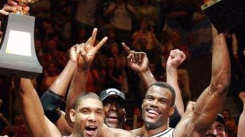 2003 San Antonio Spurs (60-22, 16-8)