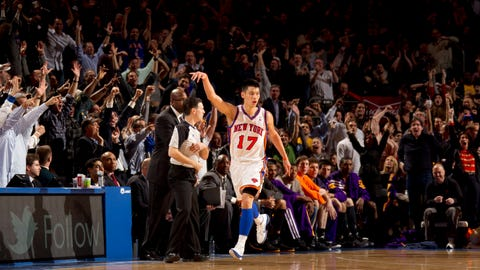 Jeremy Lin (New York Knicks, 2012)