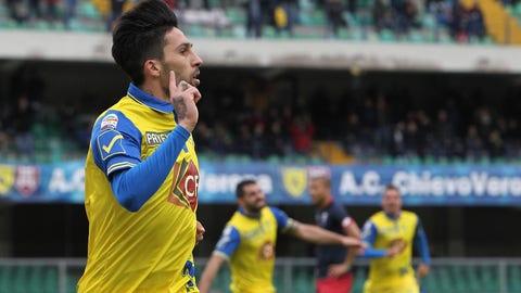 Midfielder: Lucas Castro - Chievo
