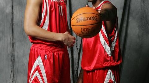 Tracy McGrady and Yao Ming