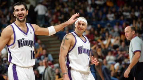 Peja Stojakovic and Mike Bibby