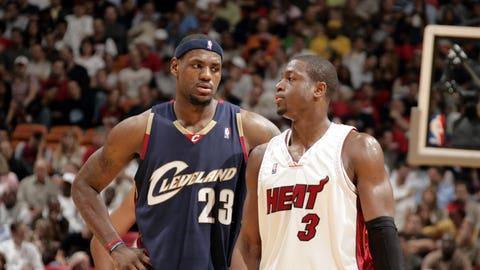 LeBron James and Dwyane Wade