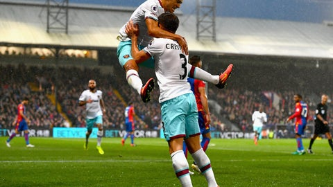 October 15th: Crystal Palace 0-1 West Ham