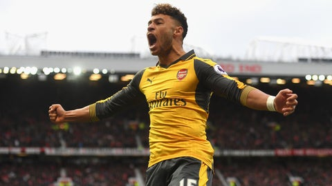 Tie Alex Oxlade-Chamberlain down to a long-term contract