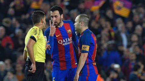 Barcelona might have some serious midfield problems