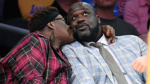 Lucille and Shaquille O'Neal