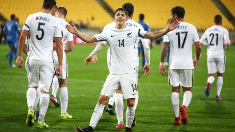 Oceania - 1 team