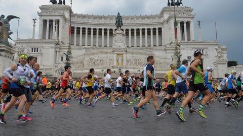 Cobblestones (Rome Marathon)