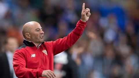 Jorge Sampaoli worked some magic at Sevilla