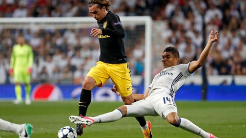 MF: Casemiro, Real Madrid