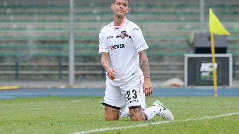 ↓ Relegated: Palermo