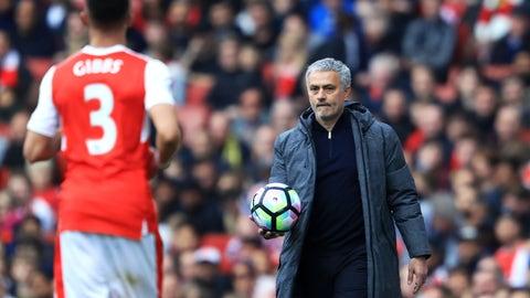 Jose Mourinho only kind of cared