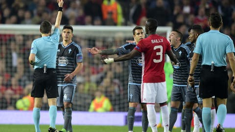 Eric Bailly's red card could be a killer