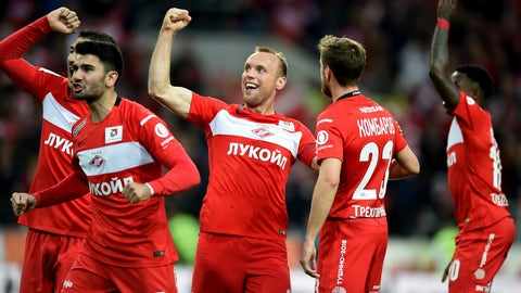 Spartak Moscow — Russia