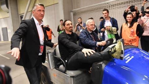 It's too bad Zlatan Ibrahimovic couldn't play