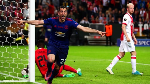 Henrikh Mkhitaryan came through