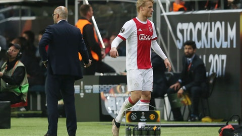 Where was Kasper Dolberg?