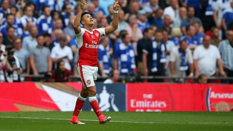 If this was Alexis Sanchez's last Arsenal game...