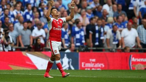 Arsenal: Alexis Sanchez