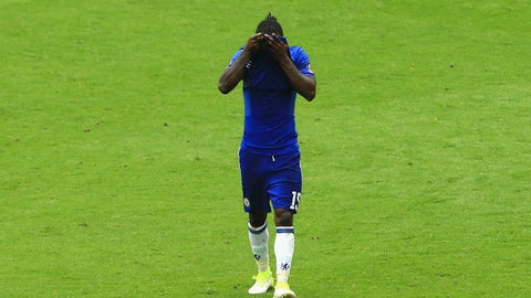Victor Moses deserved his red card