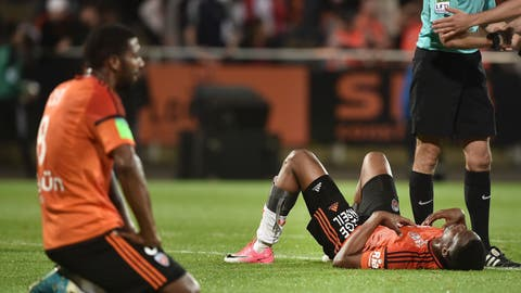 ↓ Relegated: Lorient