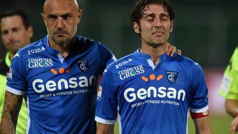 ↓ Relegated: Empoli