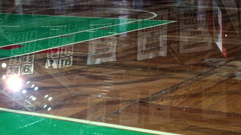 Parquet floor (Boston Garden)