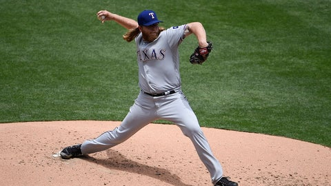 Griffin blanks Padres