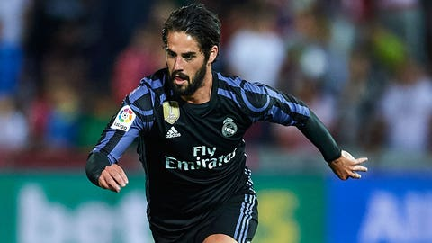 MF: Isco - Real Madrid